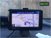 A day in the life - Sat Nav